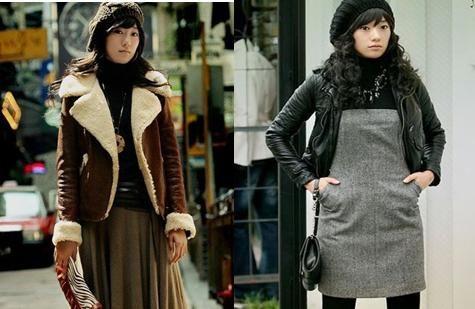 今冬最流行的韩国服饰